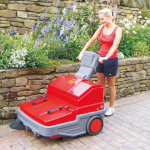 Powerbrush Battery Powered Pedestrian Sweeper