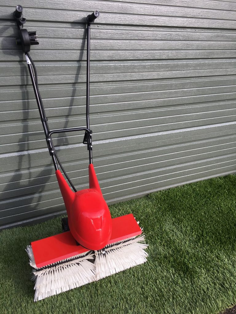 Lawn Sweeper For Artificial Grass And Synthetic Turf From Power Brush